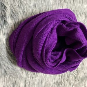 Purple Scarf by United Color of Benetton